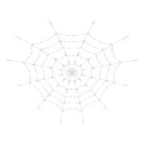 Vector spider web for Halloween design or t-shirt print. Cobweb. Isolated on white background. Spider web for Halloween design or t-shirt print. Cobweb stock illustration
