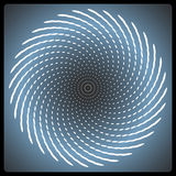 Vector spiral background Royalty Free Stock Photo