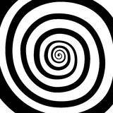 Vector spiral, background. Hypnotic, dynamic vortex. Vector spiral, background. Hypnotic, dynamic vortex Object on white background Stock Images
