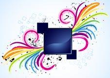 Vector spiral design Royalty Free Stock Photo