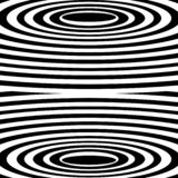 Vector spiral. Spiral. The concentric circles. The silhouette of the spiral. Effect, hypnosis, the symmetry of the spiral royalty free illustration