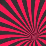 Vector Spiral Tunnel Illusion. Vortex Motion Striped Tunnel Background Stock Photos