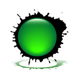 Vector splash Stock Photography