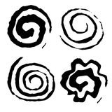 Vector Splats & Swirls. A collection of vector Splats & Swirls Royalty Free Stock Photo