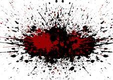 Vector splatter black color background.illustration vector desig. N Stock Image