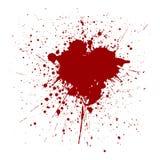 Vector splatter red color background. illustraition  desig Stock Photography