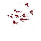 Vector splatter red color background. illustraitttion Stock Image