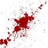 Vector splatter red color background. illustraitttion Stock Images