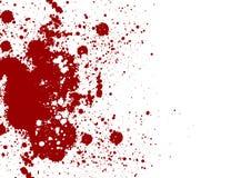 Vector splatter red color background. Vector illustration. Grung Royalty Free Stock Image