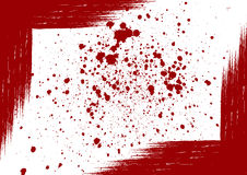 Vector splattered background element with a space for your text Royalty Free Stock Photography