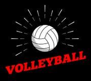 Vector sport ball logo icon sun burtst print hand drawn vintage line art. Design vector illustration