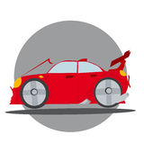 Vector of sport car Stock Images