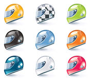 Vector sport equipment icons. Set of the shiny sport equipment icons Royalty Free Stock Photo
