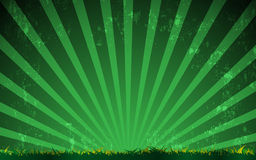 Vector sport green field vintage style background Stock Images