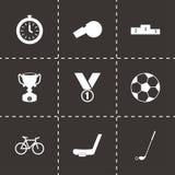 Vector sport icon set Stock Photos