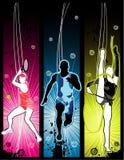 Vector sport illustration royalty free stock image
