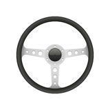 Vector Sport Steering Wheel illustration. Isolated on white background Royalty Free Stock Photos