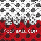 Russia 2018 Soccer cup Royalty Free Stock Image