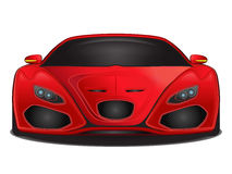 Vector sports car Stock Photography