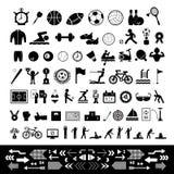 Vector sports icon set Stock Image