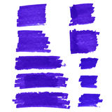 Vector spot of paint Stock Image