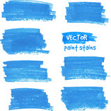 Vector spot of paint drawn by felt pen Royalty Free Stock Image