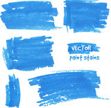 Vector spot of paint drawn by felt pen Stock Images