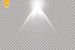 Vector Spotlights. Scene. Light Effects. Magic concept Royalty Free Stock Photos