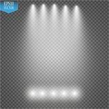 Vector Spotlights. Scene. Light Effects vector illustration