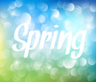 Vector Spring abstract background. With place for your text Royalty Free Stock Photography