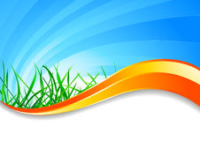Vector spring background Royalty Free Stock Photo