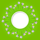 Vector spring background. Royalty Free Stock Images