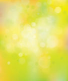 Vector  spring  bokeh background. Stock Images