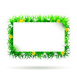Vector spring frame Stock Photos