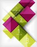 Vector square abstract background Stock Photos