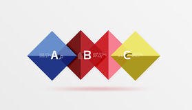 Vector square banner Stock Photo