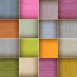 Vector Square Colorful Background. Vector Square Colorful Wooden Abstract Background Stock Photos