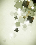 Vector square elements concept abstract background Stock Image