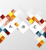 Vector square elements on gray abstract background with infographics Stock Photo
