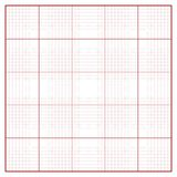 Vector square engineering graph paper Royalty Free Stock Image