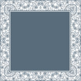 Vector square frame. Royalty Free Stock Images