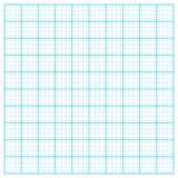 Vector square inch grid background. Vector square inch blue grid on white background Stock Photography