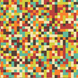Vector square multicolor mosaic background. Royalty Free Stock Photography
