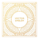 Vector square poster design template or greeting card Stock Photo
