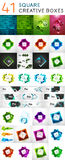 Vector square web boxes mega set Royalty Free Stock Images