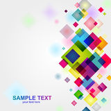 Vector squares background Stock Photography