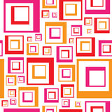 Vector Squares Pattern Royalty Free Stock Photo