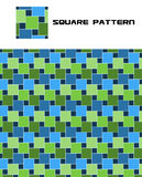 Vector Squares Seamless Pattern Stock Images