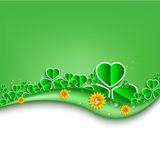 Vector St. Patrick's Day background. Eps 10 Royalty Free Stock Photos