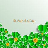 Vector St. Patrick's Day background. Eps 10 Stock Photography